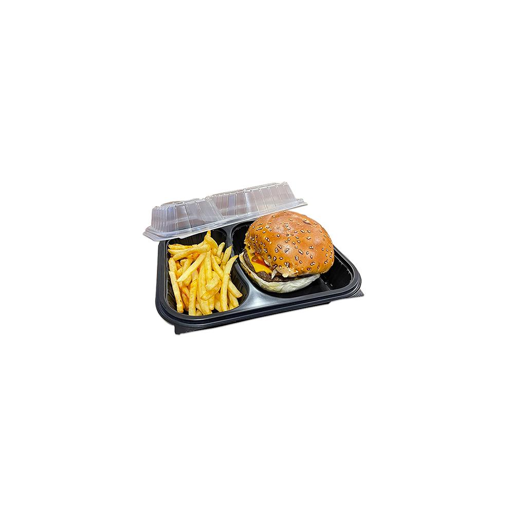 Özün 2 Bölemli Hamburger Ve Sıcak Yemek Kabı - 2